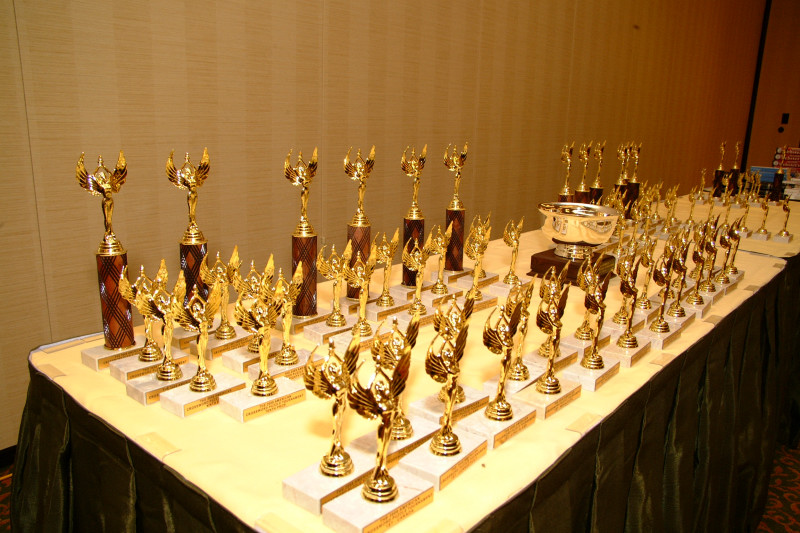 obligatory average photograph of standard trophies