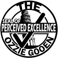 Ozzie Gooen Seal of Perceived Excellence